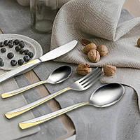 Набор столовых приборов Maestro, в комплекте 24 предмета, материал - нержавеющая сталь, MR-1529-24