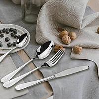 Набор столовых приборов Maestro, в комплекте 24 предмета, материал - нержавеющая сталь, MR-1532-24