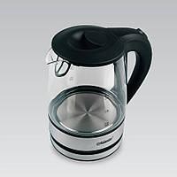 Электрический чайник 1,2 л Maestro, термостойкое стекло, цвет черный (MR-062)
