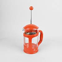 Френч - пресс для кофе/чая 800мл,боросиликатное стекло, цвета фиолетовый, синий, черный (MR-1665-800)