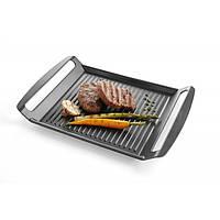 629130 Сковородка-протвинь индукционная рифленная 390*260*35мм