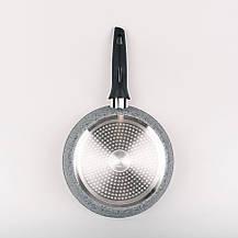 Сковорода Maestro Granit, диаметр 26 см, материал - высококачественный литой алюминий, MR-1210-26N, фото 2