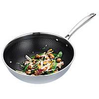 Профессиональная сковорода WOK, цвет серый (MR-1224-30)