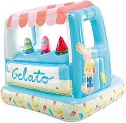 Надувной игровой центр бассейн детский   Мороженное   (27х102х99 см) 48672