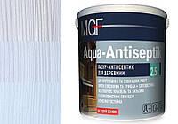 Лазурь антисептик для древесины MGF Aqua-Antiseptik белый 0.75 л