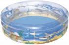 Детский надувной бассейн тропические фрукты Bestway разноцветный 51045