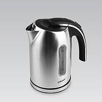 Электрический чайник 1,7 л Maestro, нержавеющая сталь, цвет серебро (MR-059)