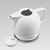 Электрический чайник 1,5 л Maestro, высококачественная керамика, цвет белый (MR-067)