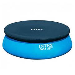 Тент для надувного бассейна Intex (457 см) Easy Set Синий 28023