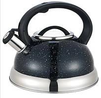 Чайник Maestro, металлический, объем 3,0 л (MR-1313C)