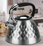 Чайник Maestro из нержавеющей стали, объем 3,0 л (MR-1322)
