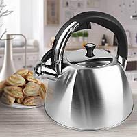 Чайник Maestro, материал - нержавеющая сталь, объем 2,2 л (MR-1333-S)