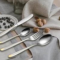 Набор столовых приборов Maestro, в комплекте 24 предмета, материал - нержавеющая сталь, MR-1528-24