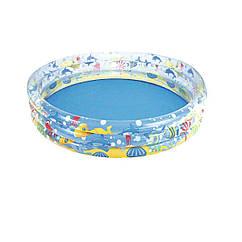 Детский надувной бассейн Bestway 51004 Подводный мир