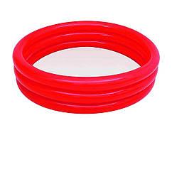 Детский надувной бассейн Bestway 51027 Красный