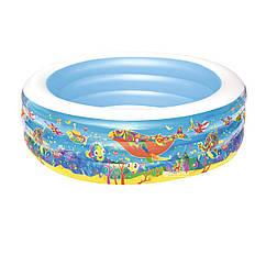 Детский надувной бассейн Bestway 51121 «Аквариум»