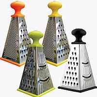 Терка пирамида Maestro, материал - нержавеющая сталь, размер 9,2х7х17,6 см, MR-1604