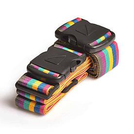 Багажный ремень-крепление на чемодан Travel Blue разноцветный (042)