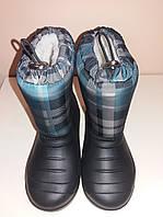 Сапоги сноубутсы зимние Mine для мальчика 28 Черный hubyvccco, КОД: 1830570