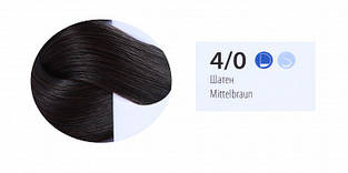 Краска-уход для волос ESTEL professional DE LUXE 4/0 De Luxe Шатен