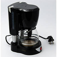 Черная кофеварка Maestro, мощность: 550 Вт, вместимость: 4-6 чашек, MR-406
