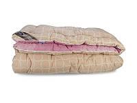 Одеяло Шерстяное Двухспальное Теплое стандарт Leleka-Textile 172х205 см зимнее Двуспальное одеяло