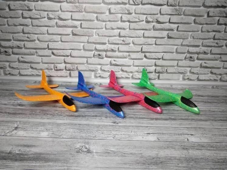 Метальний літак планер Fly plane 48 см
