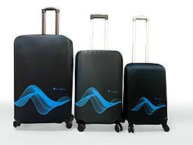 Чехол для багажа Travel Blue средний черный (595)