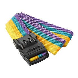Багажный ремень-крепление на чемодан Travel Blue 2 циферблата разноцветный (046Y)