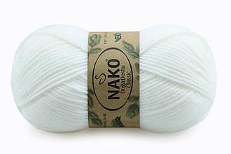 Nako Doga Dostu Classic, Белый меланж №40075