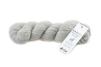 Gazzal Baby Alpaca Pure Color, Светло-серый №6451