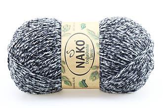 Nako Doga Dostu Classic, Черно-белый меланж №40082