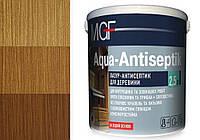 Лазурь антисептик для древесины MGF Aqua-Antiseptik дуб 0.75 л