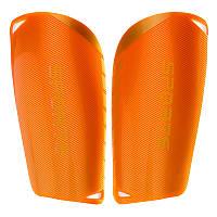Щитки футбольные SPORTS FB-6848 оранжевые (пластик, EVA, L-18х9,5см)