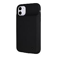 Чехол power bank / повербанк Battery Case для iPhone 11 4500 mAh черный