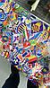 Виниловая пленка Стикер Бомбинг: размер 40 х 152 см