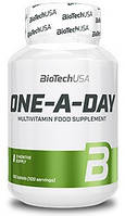 Витмины и минералы BioTech One A Day   100 tabs.