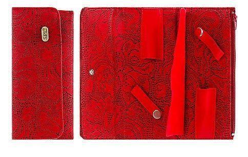 Футляр для перукарських інструментів SPL 77407 (червоний)