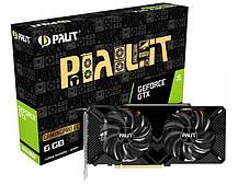 Видеокарта Palit PCI-Ex GeForce GTX 1660 Super GamingPro OC 6GB GDDR6 (NE6166SS18J9-1160A-1)