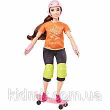 Кукла Барби Олимпийские игры Токио Скейтбординг Barbie Olympic Games Tokyo 2020 GJL78