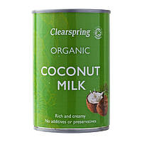 Кокосове молоко органічне 200мл, Clearspring