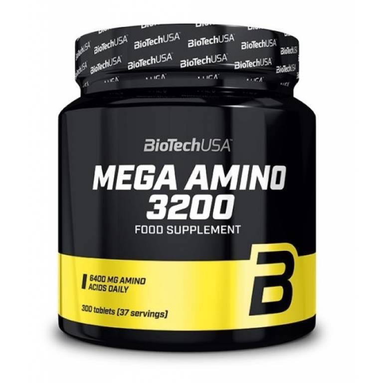 Аминокислоты BioTech Mega Amino 3200 - 300caps.