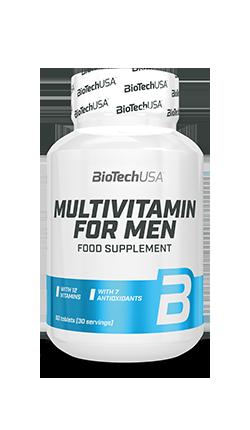 Витамины и минералы BioTech Multivitamine for Man 60caps.