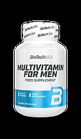 Вітаміни і мінерали BioTech Multivitamine for Man 60caps.
