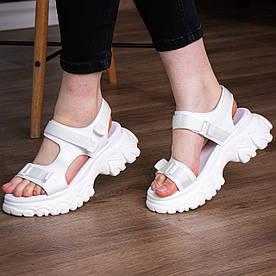 Жіночі сандалі Fashion Twister 3057 41 розмір 25 см Білий