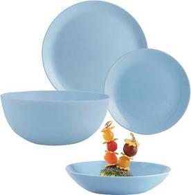 Сервиз столовый 19 предметов Diwali Light Blue Luminarc P2961