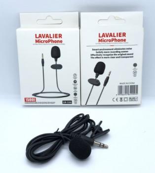 Мікрофон міні з кабелем AUX JH-043