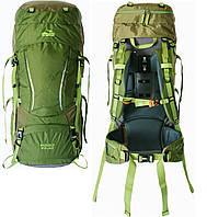 Рюкзак туристичний 60+10 л Tramp Sigurd зелений. Туристичний рюкзак 60 л. Рюкзак в похід