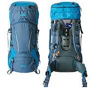 Рюкзак туристичний 60+10 л Tramp Sigurd синій. Туристичний рюкзак 70 л. Рюкзак в похід