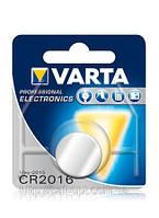 Бат.диск. Varta CR2016 Lithium, 3V